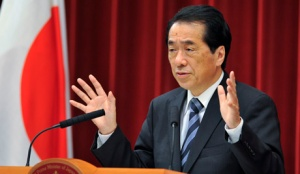 Japanese Prime Minister Naoto Kan reshuffles his cabinet ministers